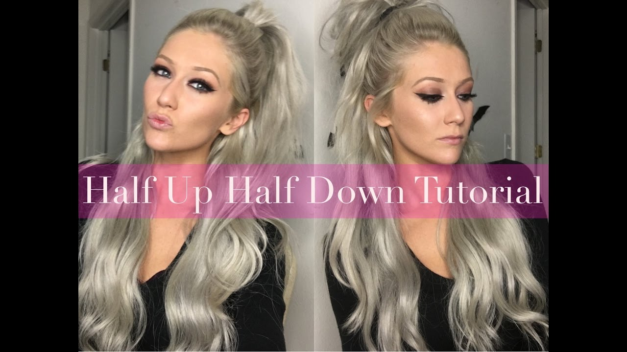 Half Up Half Down With Clip In Hair Extensions Luxury For Princess