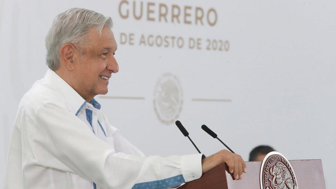 Guerrero reduce 32% incidencia delictiva. Conferencia presidente AMLO