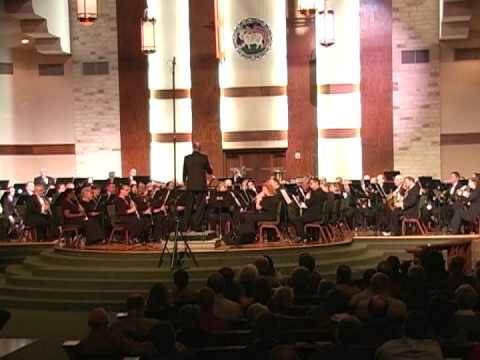 Austin Symphonic Band performing Claude T. Smith's Eternal Father, Strong to Save (The Navy Hymn)