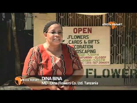 www.africareport.com video - Dina Flowers, Tanzania