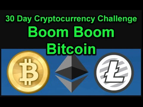 Boom Boom Bitcoin - 30 Day Cryptocurrency Challenge - Join Us! Day 10,11
