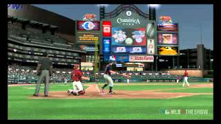 MLB 10: The Show - David Wright Home Run Hit by My Wife