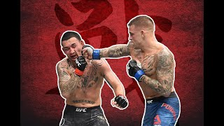 Dustin Poirier has beautiful striking