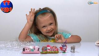 ✔ Смешарики яйца с сюрпризом игрушкой распаковка Surprise eggs unboxing Видео для детей Серия 4 ✔