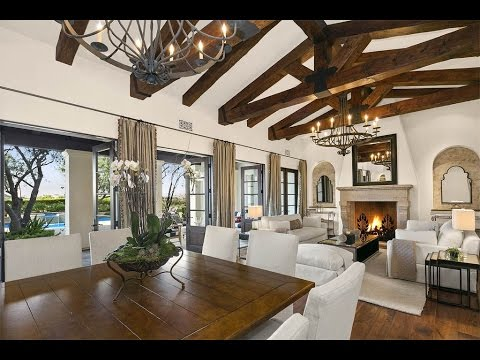 Santa Barbara Style Estate In Irvine California Youtube