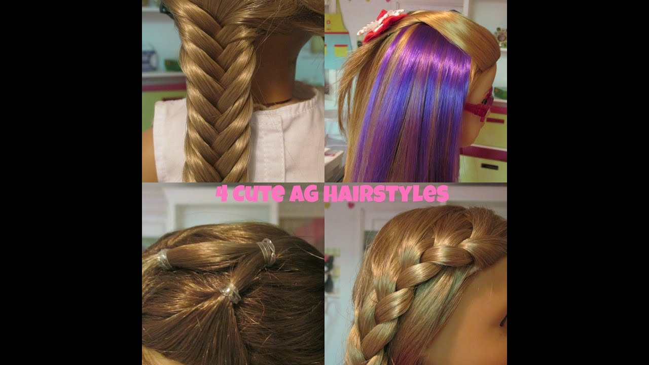 Cute AG Hairstyles YouTube - Hairstyles for dolls with long hair