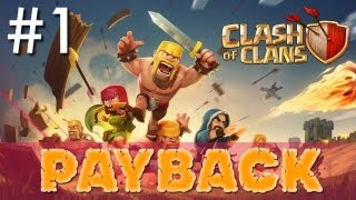 Clash of Clans - Minimalist Army Playthrough #1: Payback