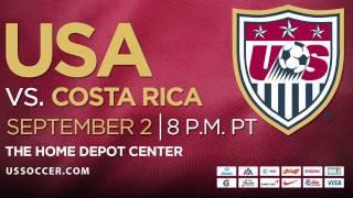 U.S. MNT vs. Costa Rica Trailer: Tickets on Sale