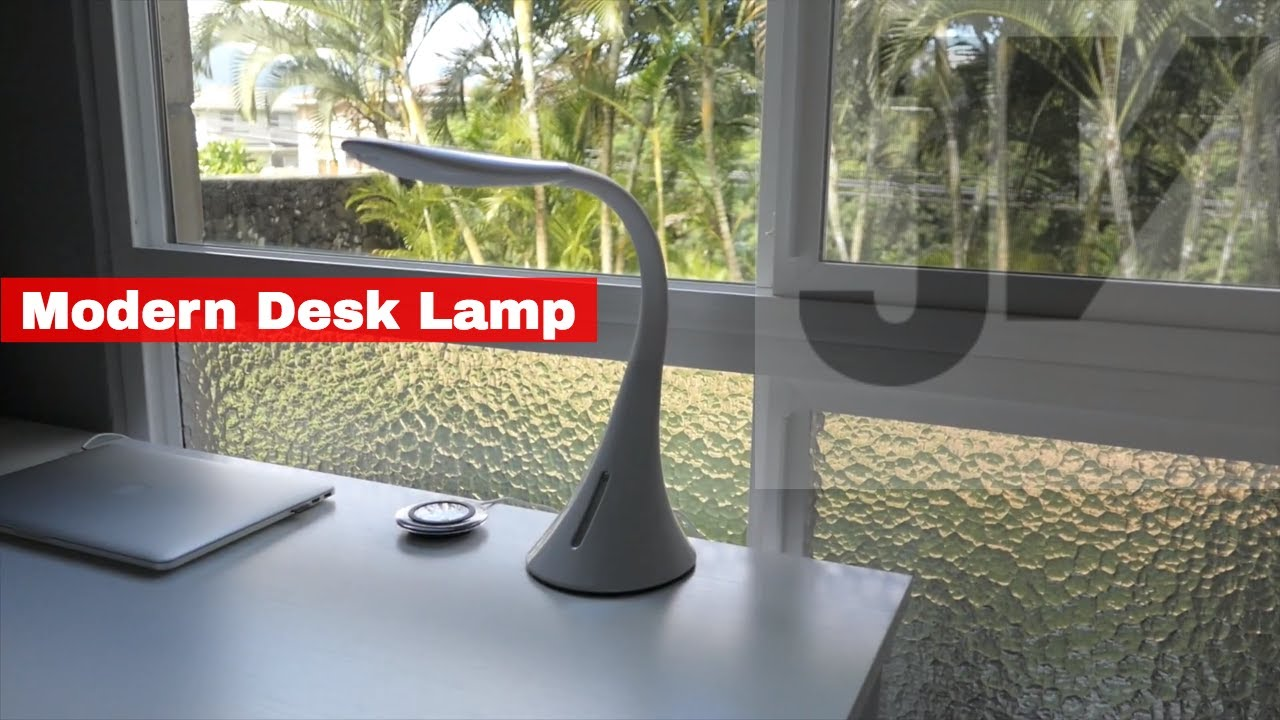 ultrabrite led desk lamp with usb ports youtube rh youtube com
