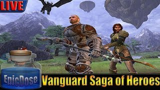 Vanguard Saga of Heroes Emulator - Live Stream - MMORPG Gameplay