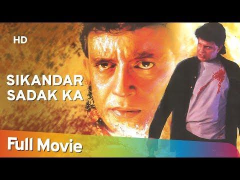 Sikandar Sadak Ka (1999) (HD) Hindi Full Movie | Mithun Chakraborty | Mohan Joshi | Bollywood Movie