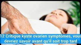 12 Critique kyste ovarien symptômes, vous devriez savoir avant qu'il soit trop tard c0ns3ils