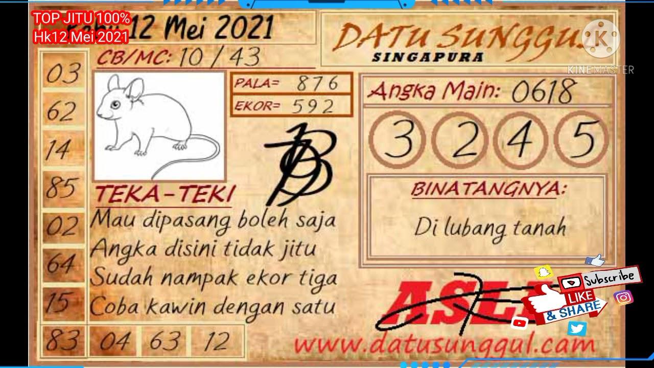 34 Syair hk datu sunggul 25 mei 2021 terbaru