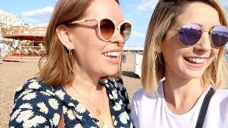Beach Fun & Sleepover With Zoe & Alfie | Tanya Burr