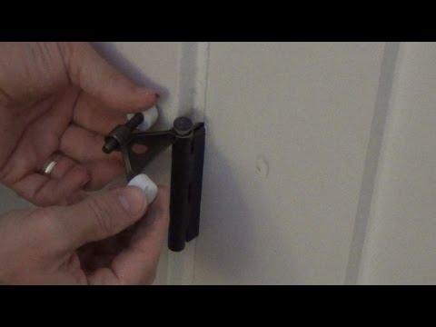 How To Install A Hinge Pin Door Stop