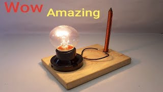 Amazing Technology Free Energy Generator By Magnet and Nail 100% At Home