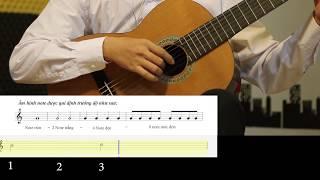 Học Đàn Guitar - Học Đàn Guitar Căn Bản - Học Đàn Guitar Cơ Bản - Học Đàn Gutiar Solo (Fingerstyle)