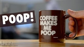 """Coffee Makes Me Poop"" Mug"
