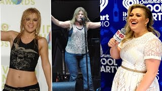 Kelly Clarkson weight gain transformation 2009 -2015