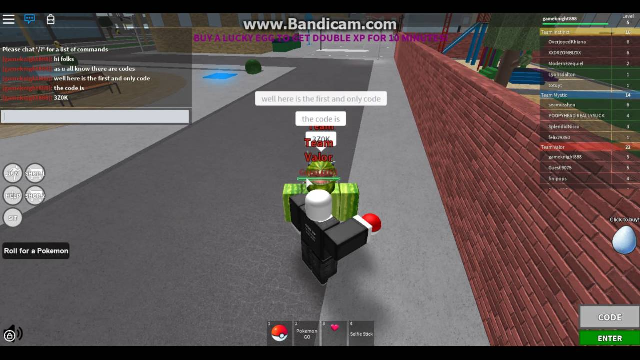 roblox pokemon go twitter codes 1 code available youtube. Black Bedroom Furniture Sets. Home Design Ideas