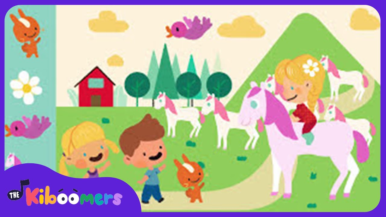 She'll Be Coming Round the Mountain | Children's Music | Kids Songs | The Kiboomers
