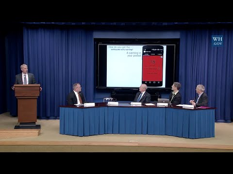 White House Summit: The Promise Of Earthquake Early Warning