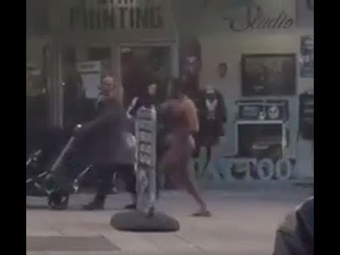 """London, Croydon - """"Mentally Unstable"""" man attack members of the public."""