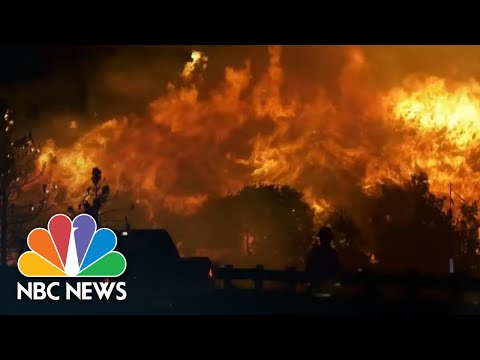 Climate Change's Devastating Impact On West Coast Wildfires | NBC Nightly News