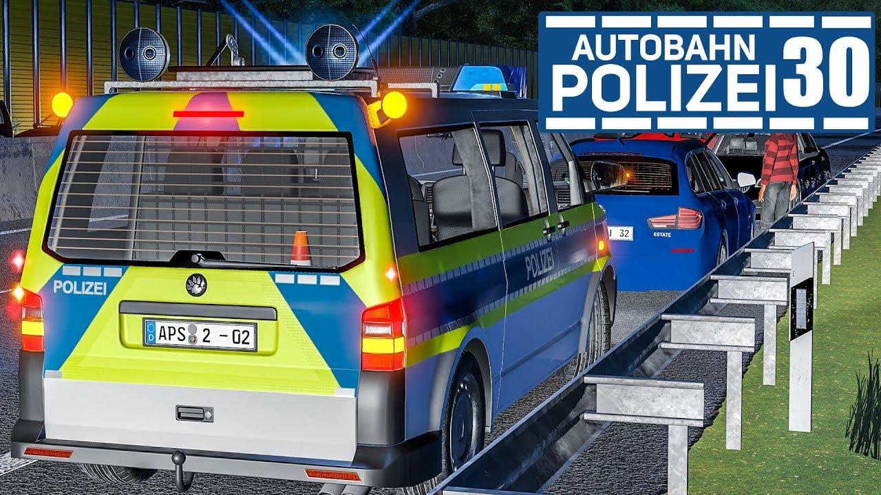 LKW sorgt für Unfall! AUTOBAHNPOLIZEI-SIMULATOR 2 #30 | Autobahn ...