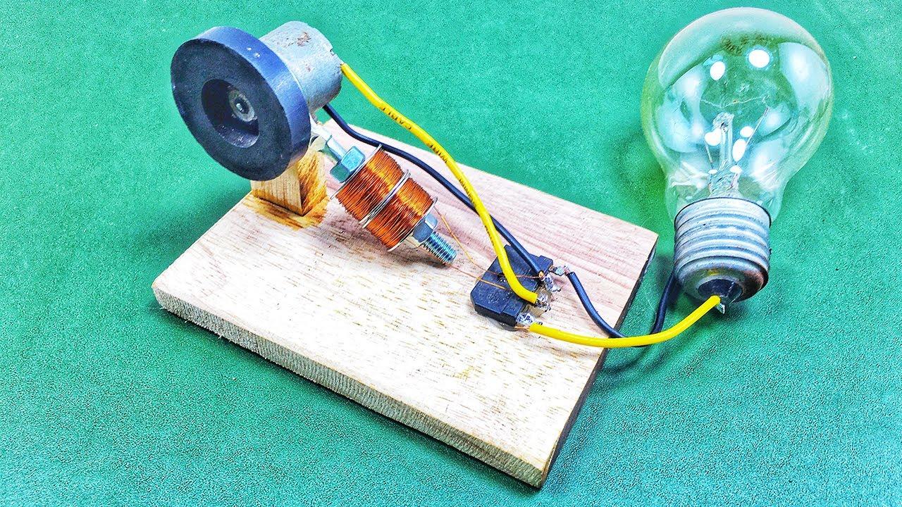 New Free Energy 100% , How make Self Running Generator At Home