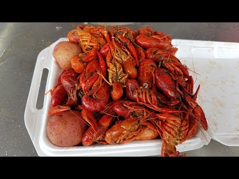 Cajun Crawfish Festival In Louisiana (2018)