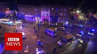 One person has been killed and Several people have been injured aft...