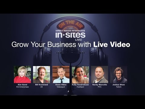 Grow Your Business with Live Video - Kim Garst, Owen Video & Joshua Shaw
