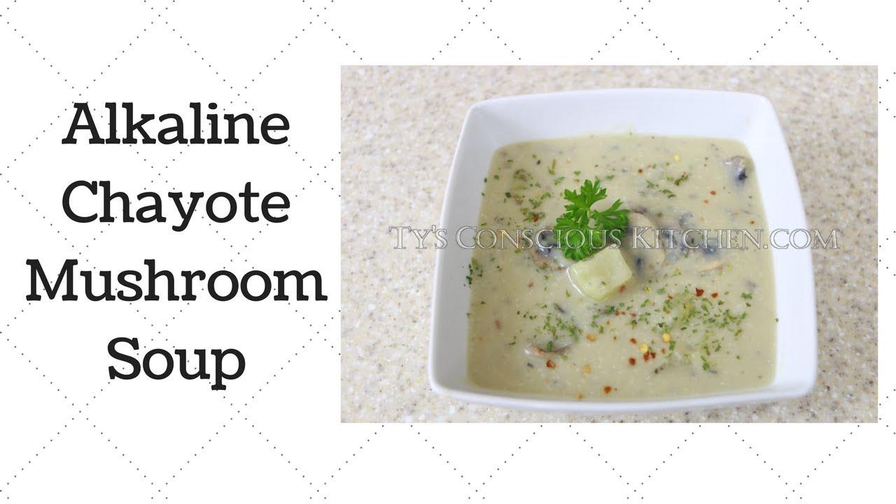 Chayote Mushroom Soup Dr  Sebi Alkaline Electric Recipe