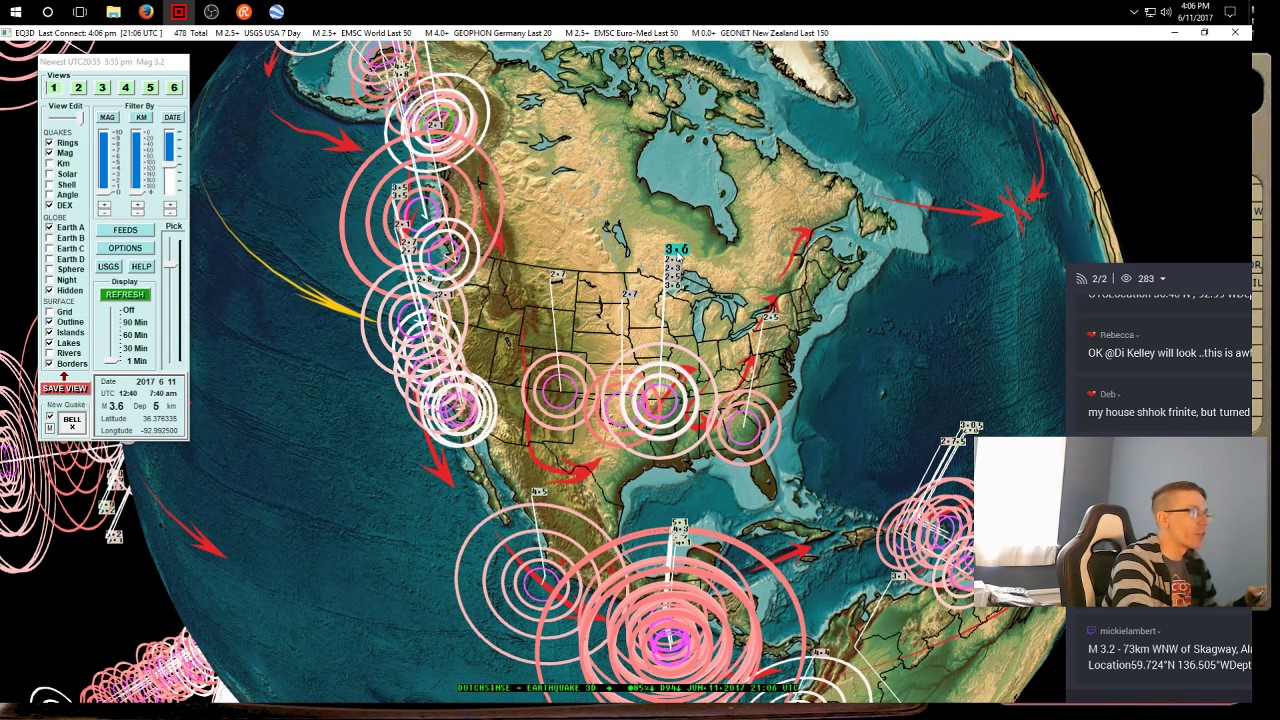 New madrid fault line predictions 2015 - 6 11 2017 New Madrid Earthquake Swarm At Mo Ar Border Global Increase Underway