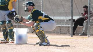 2014 Spring Training: Oakland Catchers
