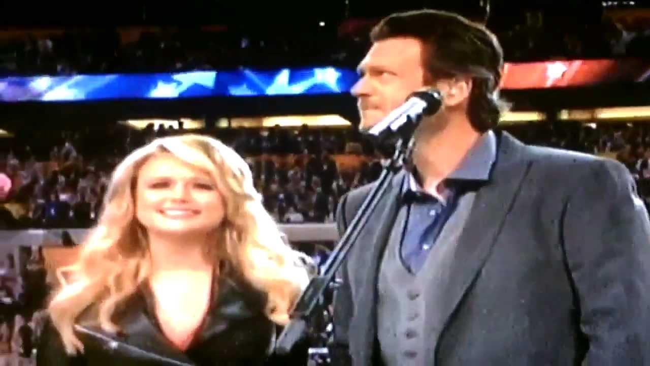Super Bowl 2012 America The Beautiful Miranda Lambert