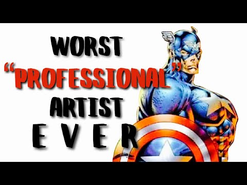 the WORST comic artist of all time