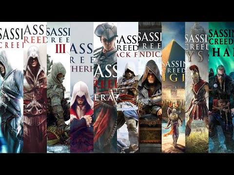 The Evolution Of Assassin's Creed Games (2007-2020)