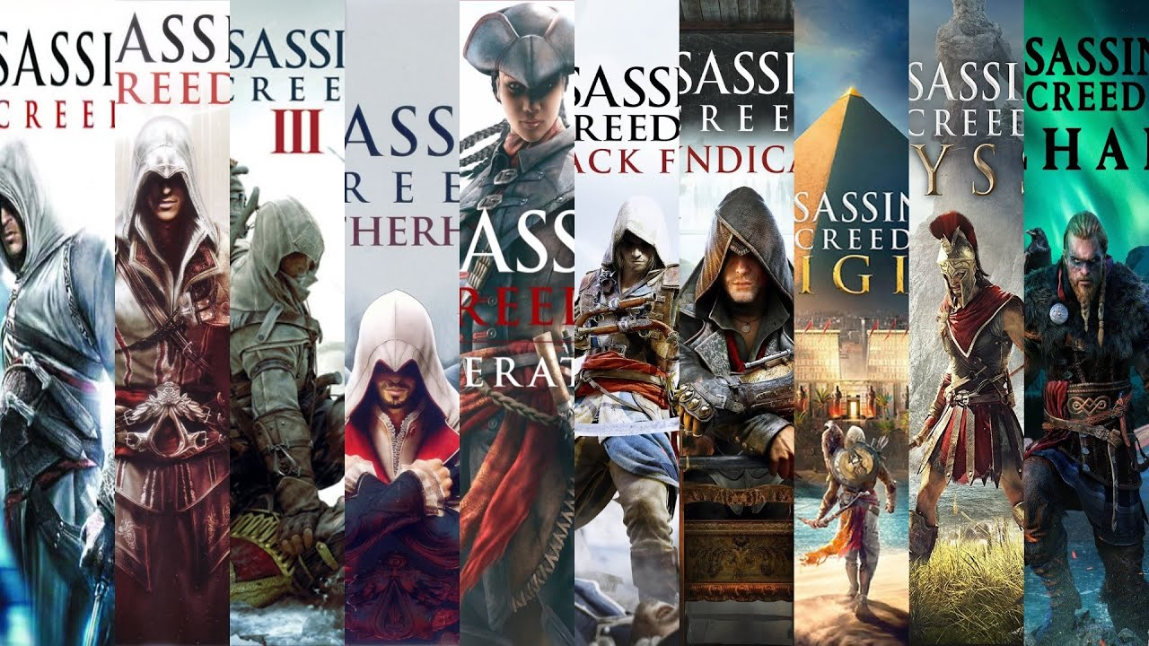 The Evolution Of Assassin S Creed Games 2007 2020 Youtube