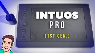 Wacom INTUOS PRO Medium Review - Drawing Tablet for Professionals