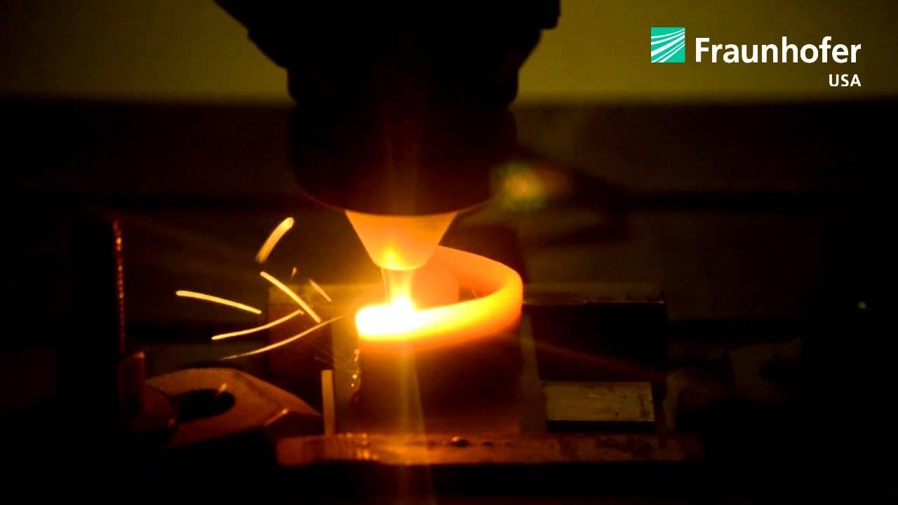 Laser Additive Manufacturing Of Turbine Blade Demonstrator