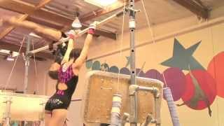 Girls gymnastics: The strong & flexible