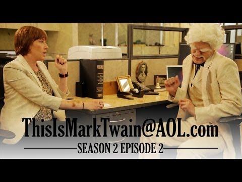 HUFFINGTON POST INTERVIEWS MARK TWAIN! - ThisIsMarkTwain@aol.com - Season 2 Ep 2