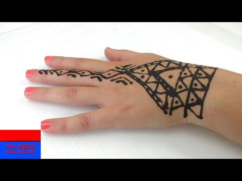 Zrób To Sam Tatuaż Z Henny Na Lato Robimy Sobie Tatuaże