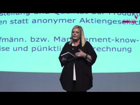 Katrin Bajri Presentation in Budapest Hungary 30th January 2016 HD