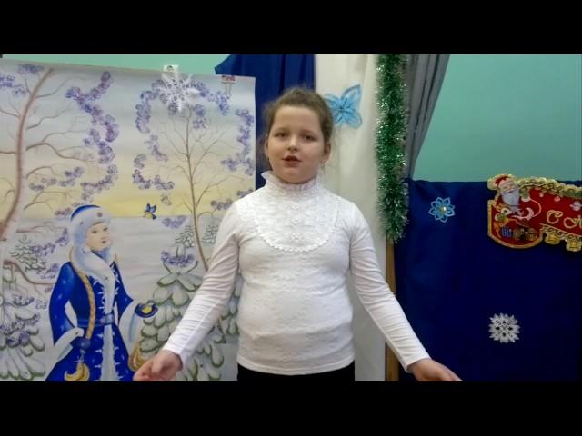 Изображение предпросмотра прочтения – НадеждаПанищева читает отрывок изпроизведения «Детство» И.З.Сурикова