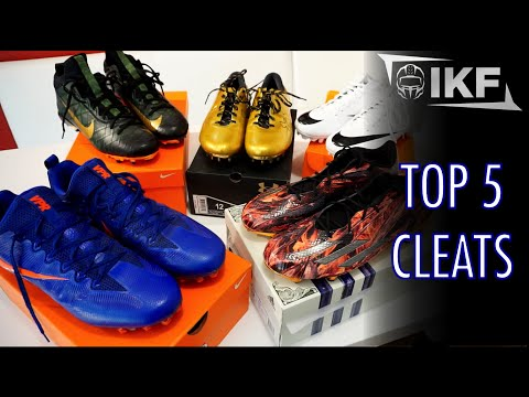 Top 5 Football Cleats 2016 - Ep. 317