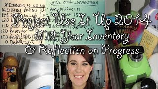 Project Use It Up 2014: Mid-Year Inventory & Reflection on Progress