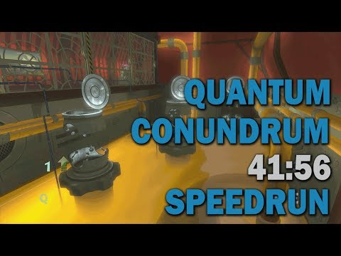Quantum Conundrum - All Collectibles Speedrun - 41:56 (World Record)